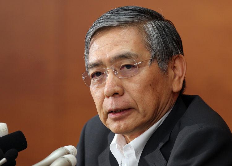 كورودا: بنك اليابان قد يستغرق وقتاً أطول لتحقيق هدف التضخم 2%