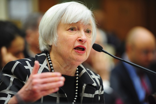 يلين: الاحتياطي الفيدرالي لن يفعل المزيد إذا ساءت الأمور أكثر