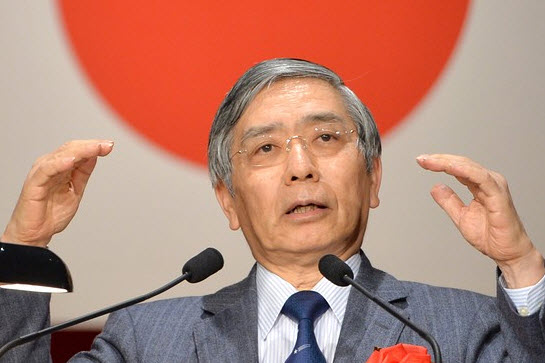 كورودا، محافظ بنك اليابان: علينا مراقبة تحركات الأسعار عن كثب