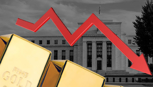 ارتفاع الدولار الأمريكي يثقل على أسعار الذهب