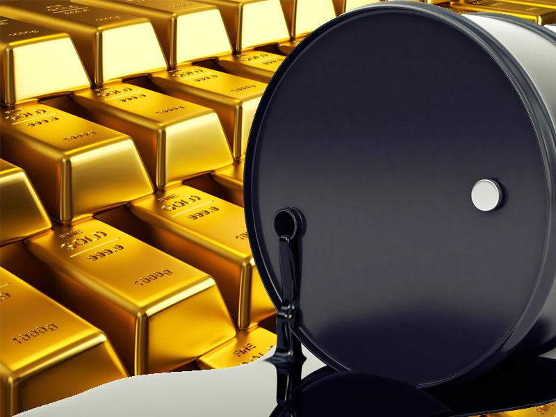 نظرة على تحركات السلع (النفط و الذهب)