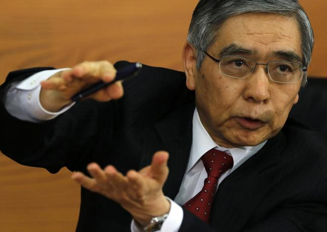 كورودا: الاقتصاد الياباني تحسن بشكل ملحوظ منذ عام 2013
