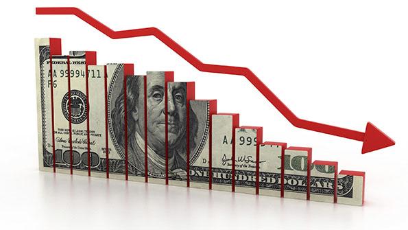 انخفاض مؤشر الدولار قبل بيانات التضخم الأمريكية