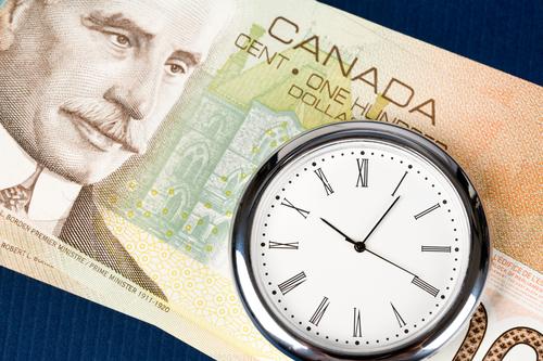 فرص تداول الدولار الكندي حسب قرارات بنك كندا بعد قليل