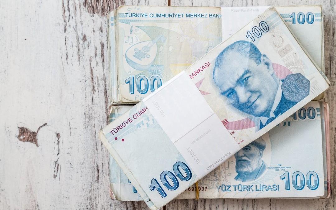 استمرار هبوط الليرة التركية للجلسة الرابعة على التوالي