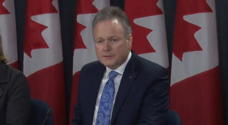 أهم تصريحات بولوز محافظ بنك كندا خلال المؤتمر الصحفي