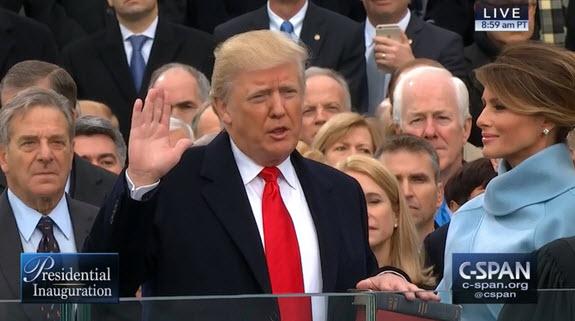 أهم تصريحات ترامب خلال مراسم تنصيبه رئيسًا للولايات المتحدة الأمريكية