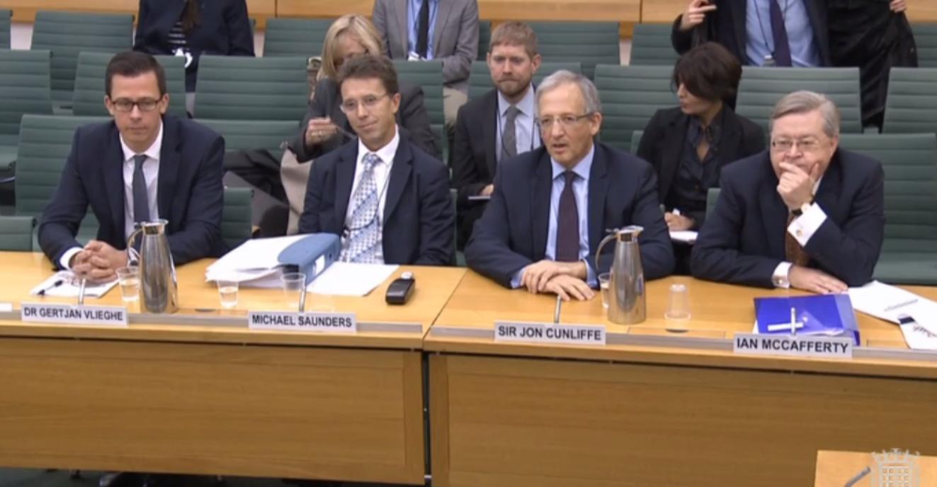 تصريحات أعضاء بنك إنجلترا خلال الجلسة الاستماعية لتقرير التضخم
