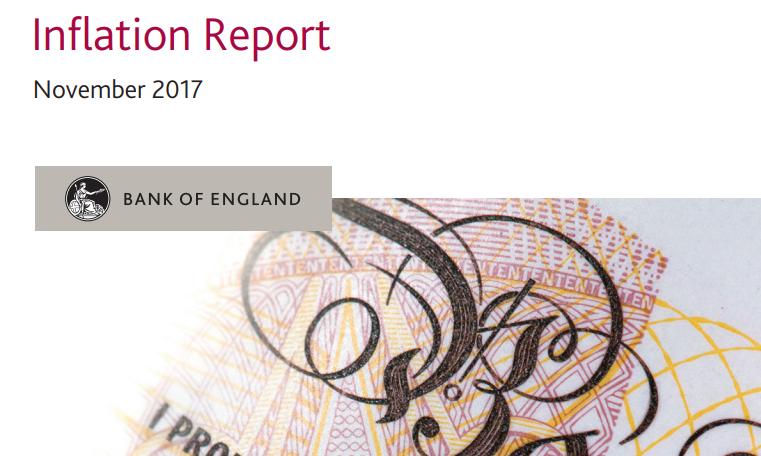 أهم نقاط تقرير التضخم الصادر عن بنك إنجلترا - نوفمبر