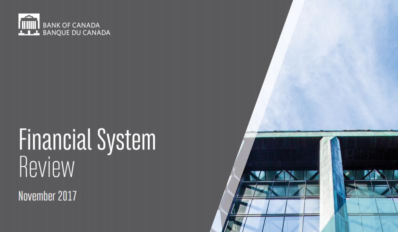 تقرير النظام المالي الصادر عن بنك كندا - نوفمبر