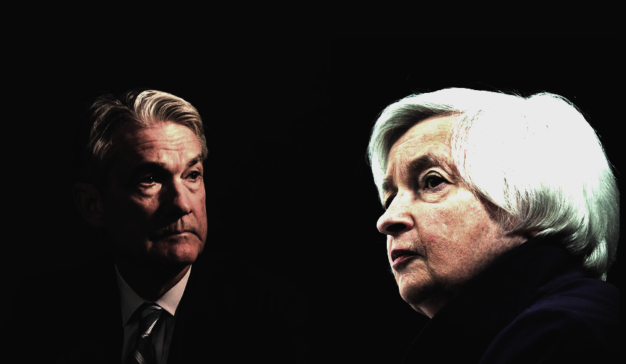 أسبوع حاسم.. باول ويلين يحددان مصير الدولار