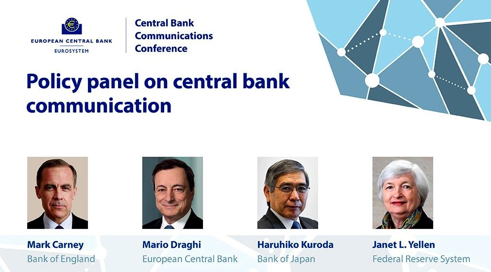 الأنظار تتجه نحو تصريحات محافظي البنوك المركزية الثلاثاء