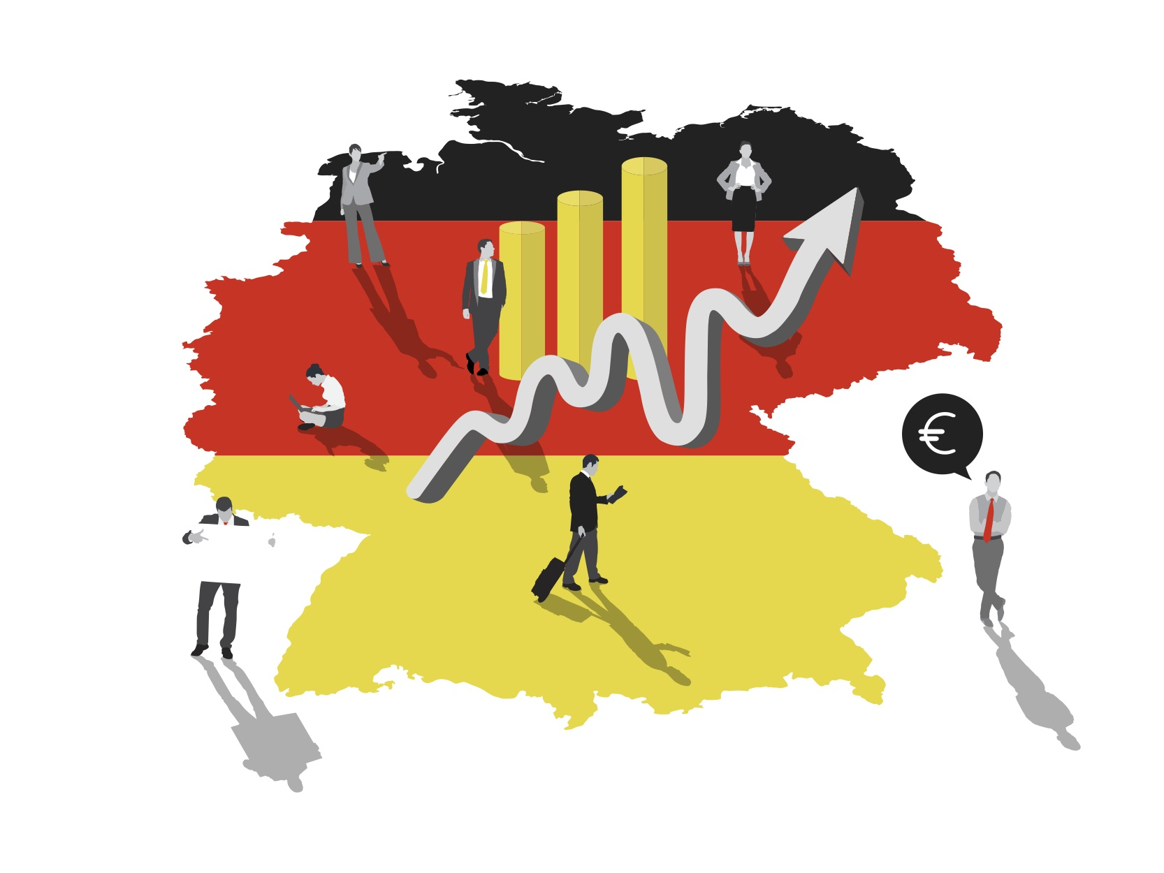تفاؤل الأعمال في ألمانيا يدعم ارتفاع اليورو