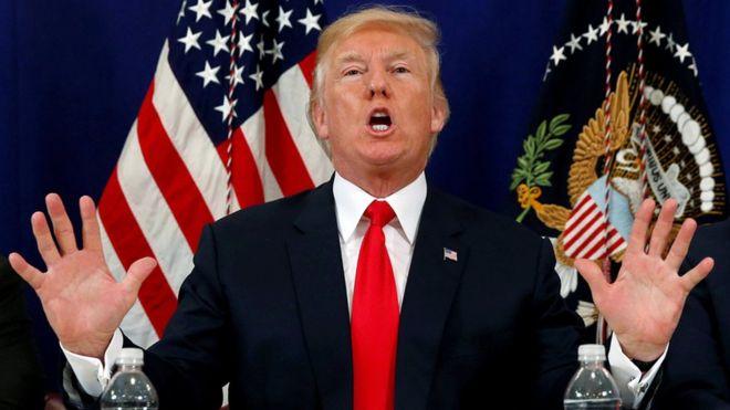 ترامب: لا يمكن السماح لكوريا الشمالية بأن تهدد أمريكا وحلفاؤها