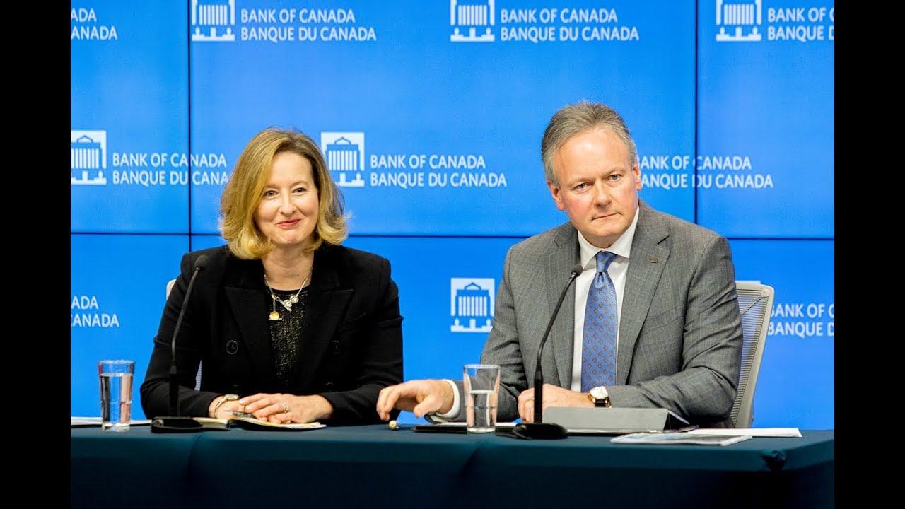 المؤتمر الصحفي لمحافظ بنك كندا ستيفن بولوز