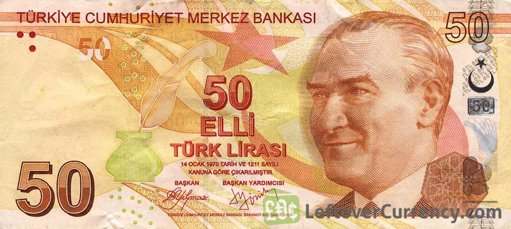 الليرة التركية تنخفض بقوة أمام الدولار الأمريكي