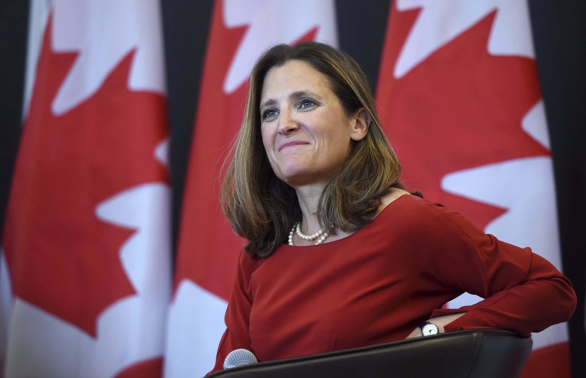 وزيرة الخارجية الكندية: نمر بمرحلة مكثفة من المفاوضات بخصوص اتفاقية NAFTA