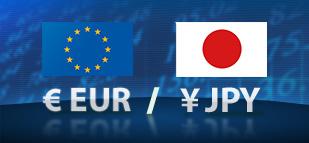 سيناريو تحركات اليورو  امام الين مع ابزر المحطات السعرية المتوقعة EURJPY