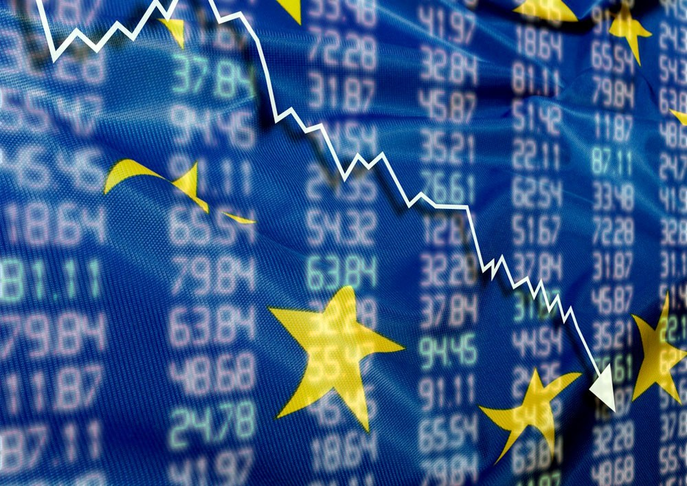 الأسهم الأوروبية تغلق على انخفاضات جماعية