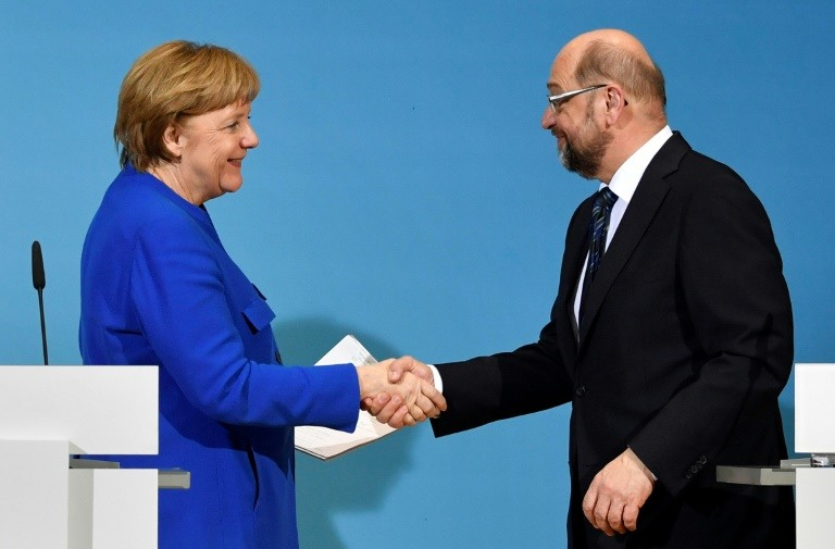 اتفاق حول تشكيل الإئتلاف الحاكم في ألمانيا