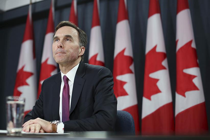 وزير المالية الكندي يشدد على قوة الوضع الاقتصادي المحلي