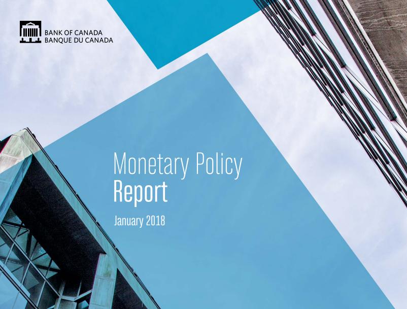 ملخص السياسة النقدية الصادر عن بنك كندا - 17 يناير