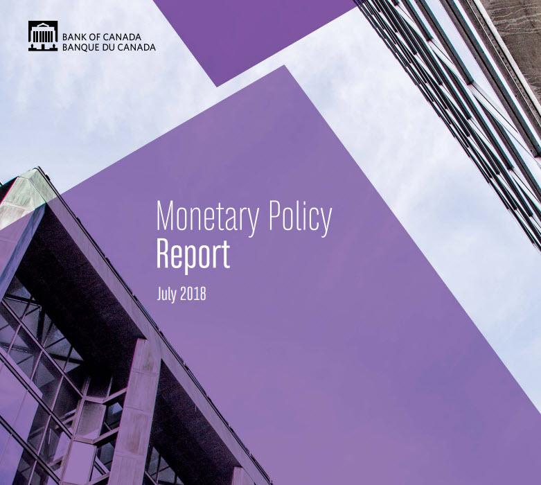 أهم نقاط تقرير السياسة النقدية الصادر عن بنك كندا - يوليو