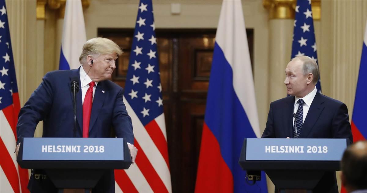 تصريحات ترامب وبوتين عقب لقاءهما اليوم