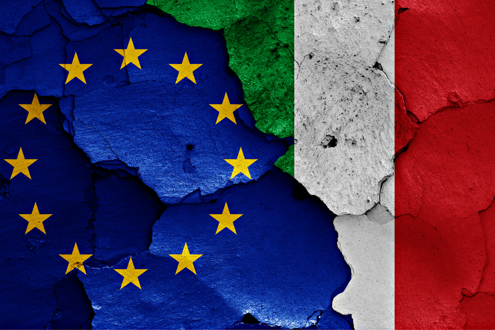 توقعات النمو الاقتصادي بإيطاليا تنخفض إلى 0.6%