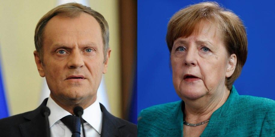تعليقات رئيس المجلس الأوروبي والمستشارة ميريكل على التطورات الأخيرة