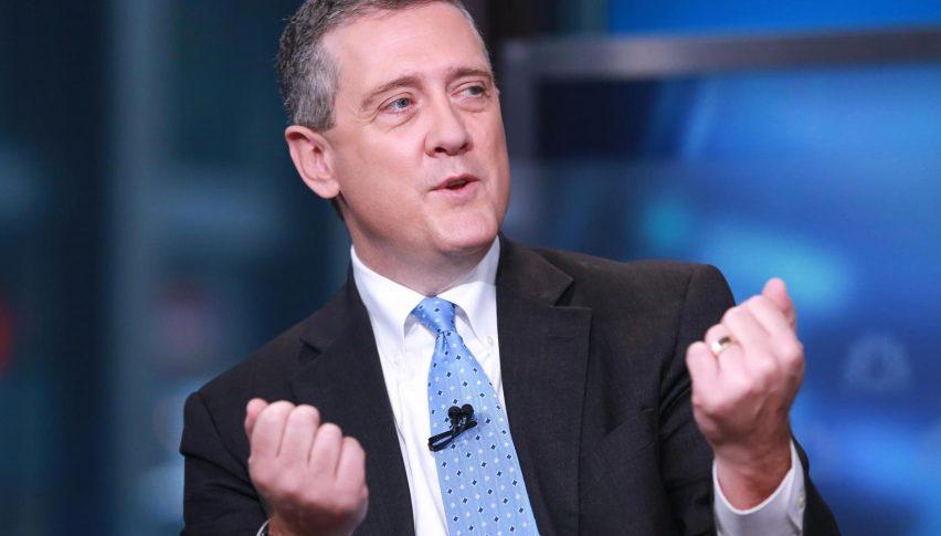 بولارد: من المناسب خفض الفائدة بمقدار 25 نقطة هذا الشهر