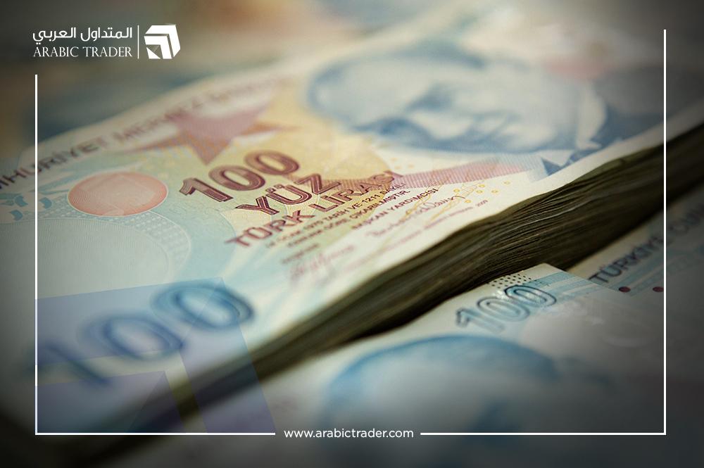 الليرة التركية تتراجع في ضوء ارتفاع بيانات التضخم