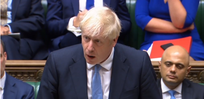 تغطية حية: خطاب بوريس جونسون أمام البرلمان البريطاني