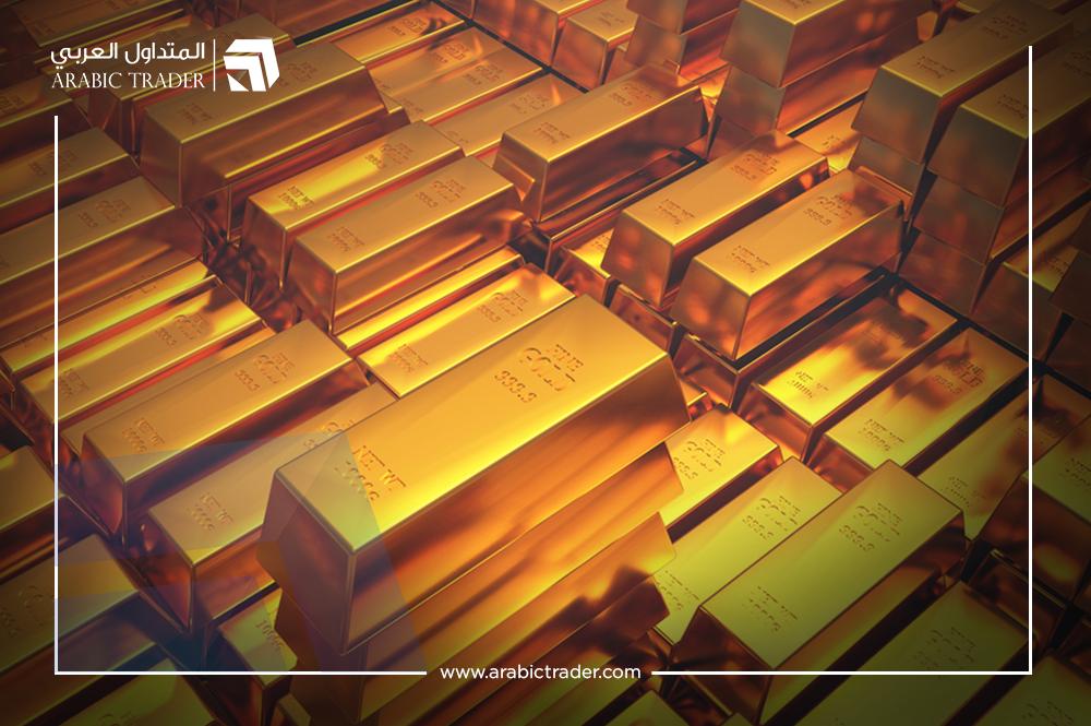 أسعار الذهب تهبط وتبتعد عن أعلى مستوياتها في أسبوعين