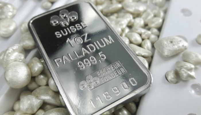 معدن البلاديوم يرتفع إلى أعلى مستوياته على الإطلاق