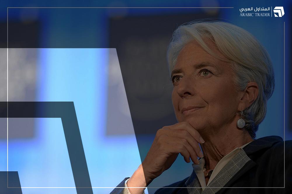 تغطية حية  .. المؤتمر الصحفي لكريستين لاجارد محافظ المركزي الأوروبي