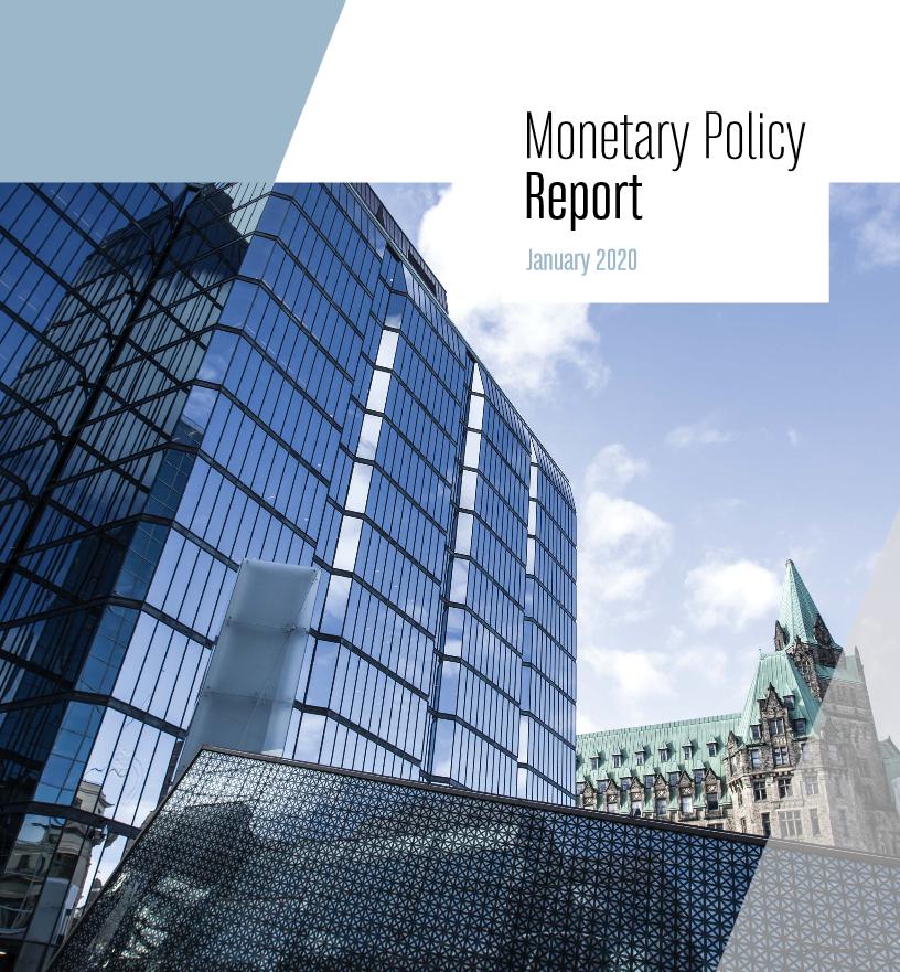 تقرير السياسة النقدية الصادر عن بنك كندا - يناير