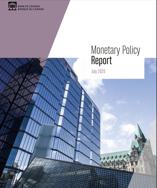 بيان السياسة النقدية الصادر عن بنك كندا - شهر يوليو