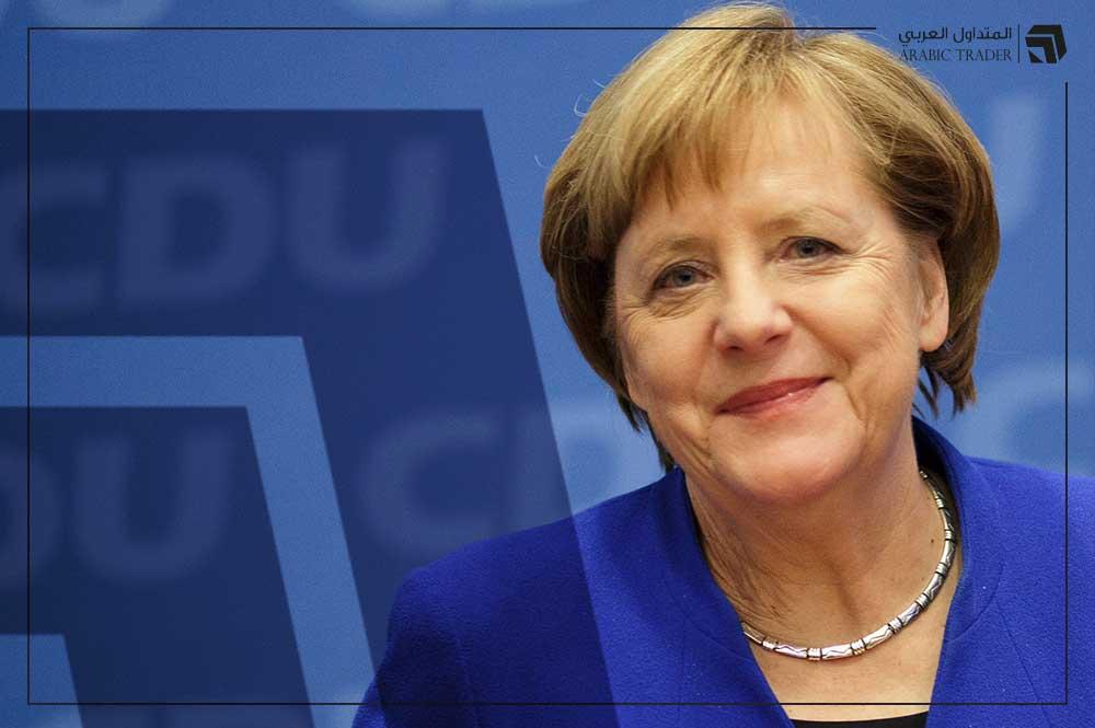 ميركل: القطاع الصناعي في ألمانيا اجتاز أزمة كورونا