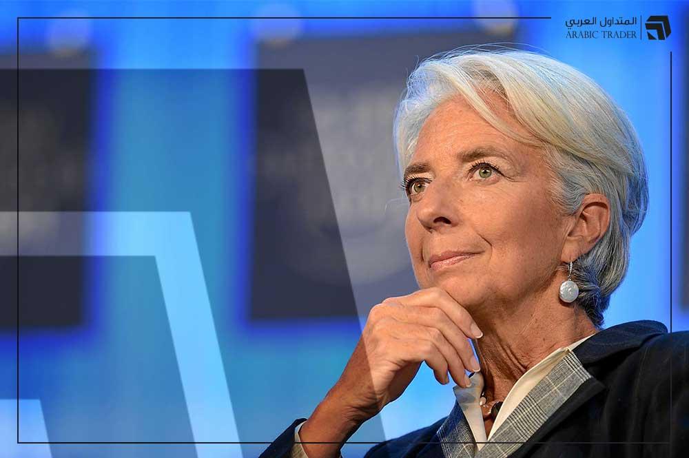 تصريحات سلبية من محافظ المركزي الأوروبي حول النمو الاقتصادي