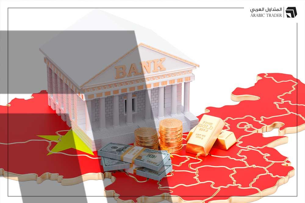 بنك الصين يرفع سعر صرف اليوان مقابل الدولار USD
