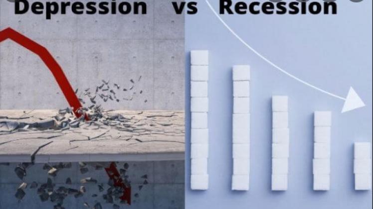 كيف يمكن التمييز بين الركود والكساد الاقتصادي؟