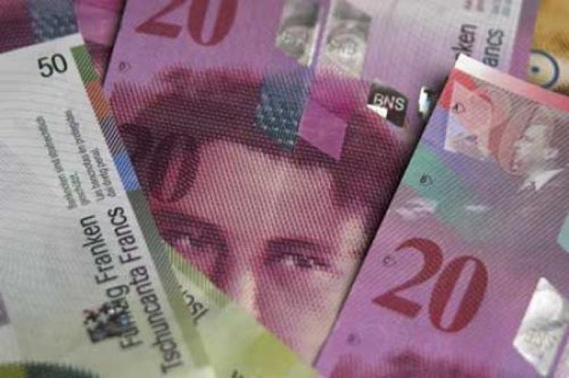 (اليورو / فرنك) يرتفع بسبب استقرار حركة سعر اليورو