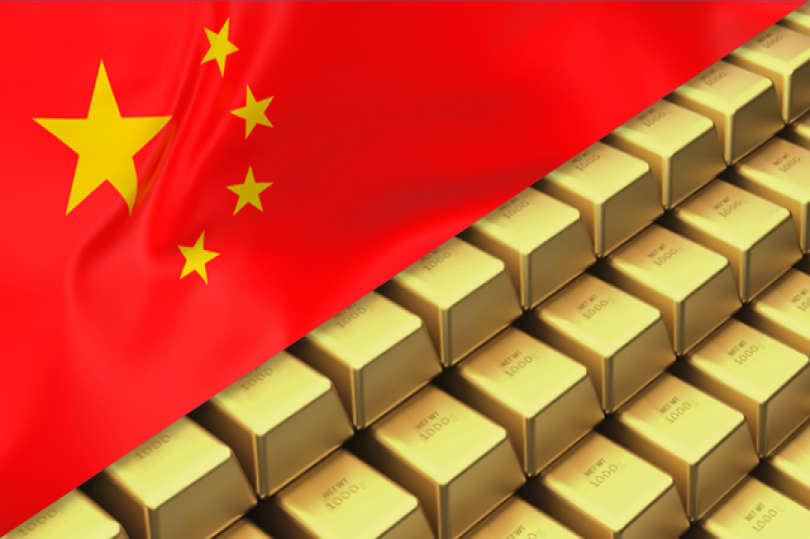 احتياطي الصين من الذهب يشهد ارتفاعًا