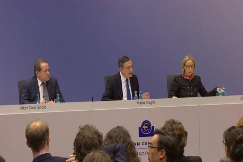 التغطية الحية للمؤتمر الصحفي للمركزي الأوروبي
