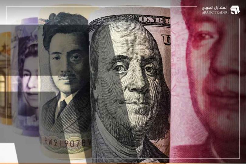 الدولار الأمريكي يقود خسائر العملات والين الياباني يواجه ضغوطا