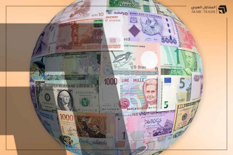 الدولار الأمريكي في مقدمة العملات الخاسرة خلال اليوم