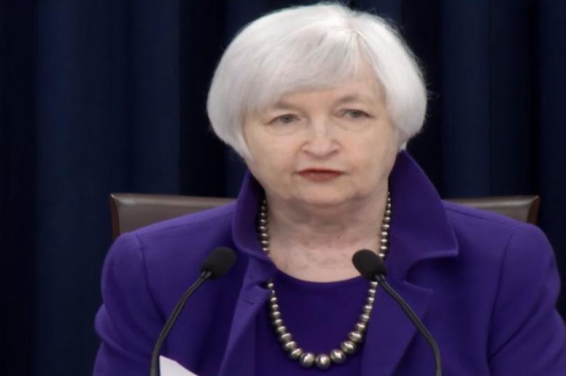 التغطية الحية لتصريحات يلين محافظ الاحتياطي الفيدرالي الأمريكي