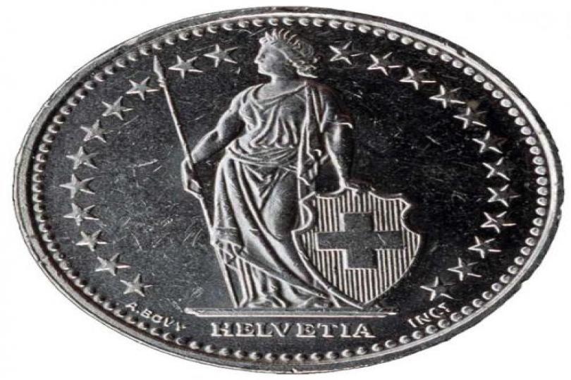 الفرنك السويسري و تراجع مقابل اليورو و الدولار