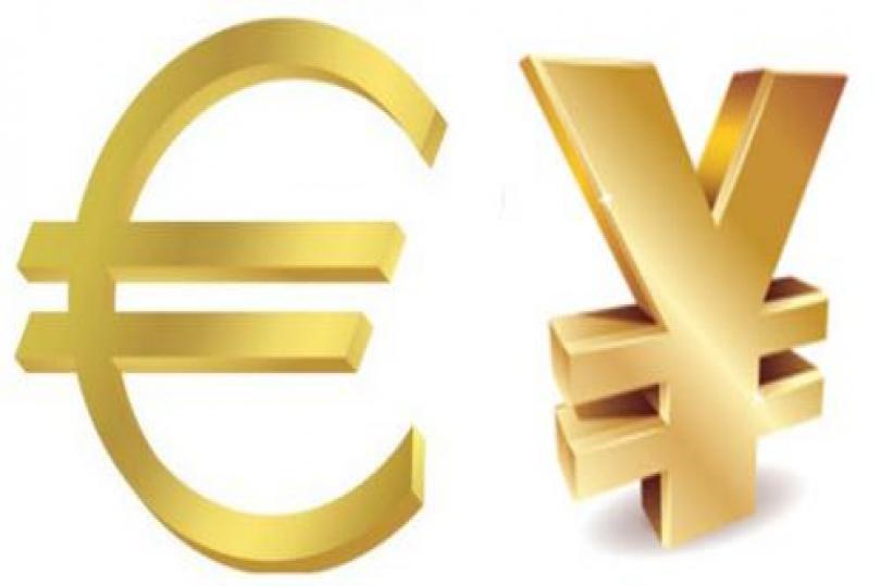 اليورو ين يعيد اختبار المتوسط المتحرك